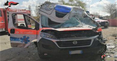 ambulanza incidente molinella bologna