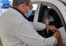 vaccino anti-covid in auto bologna gazzetta