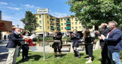 In San Donato una piazzetta intitolata a Gianni Rodari