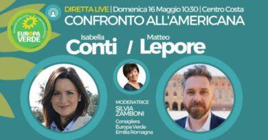"""Primarie centro-sinistra a Bologna, confronto """"all'americana"""" tra Lepore e Conti"""