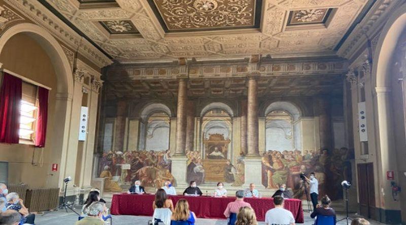 Restaurato il più grande affresco di Bologna, sarà visibile nei prossimi mesi