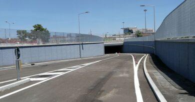 Aperto il tunnel tra via Bovi Campeggi e via de' Carracci, porterà anche al Kiss&Ride della stazione
