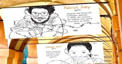 """""""Patrick Patrimonio dell'Umanità"""", una mostra sotto i portici come regalo di compleanno dello studente in carcere"""