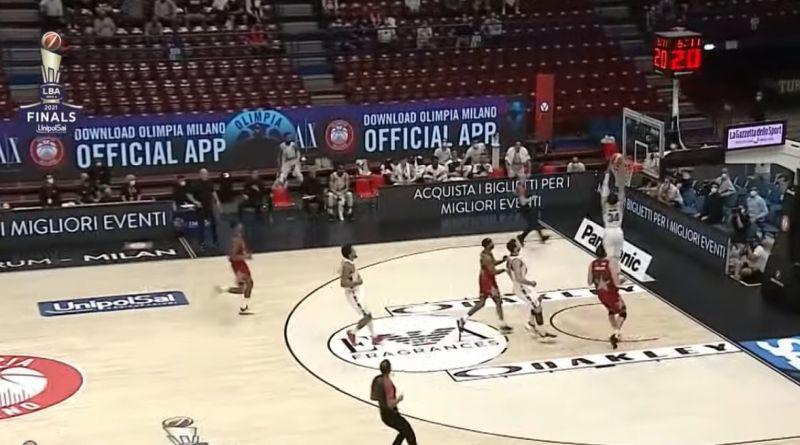 Finale basket serie A, Bologna vince anche gara 2 contro Milano