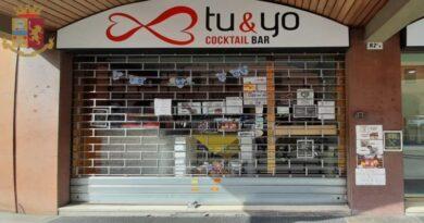 Spaccio in un bar, chiuso per 15 giorni il bar Tu & Yo di via Mazzini