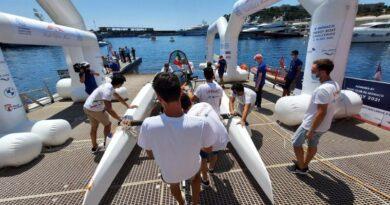 futura La barca ecologica realizzata dagli studenti dell'Unibovince laMonaco Energy Boat Challenge 2021