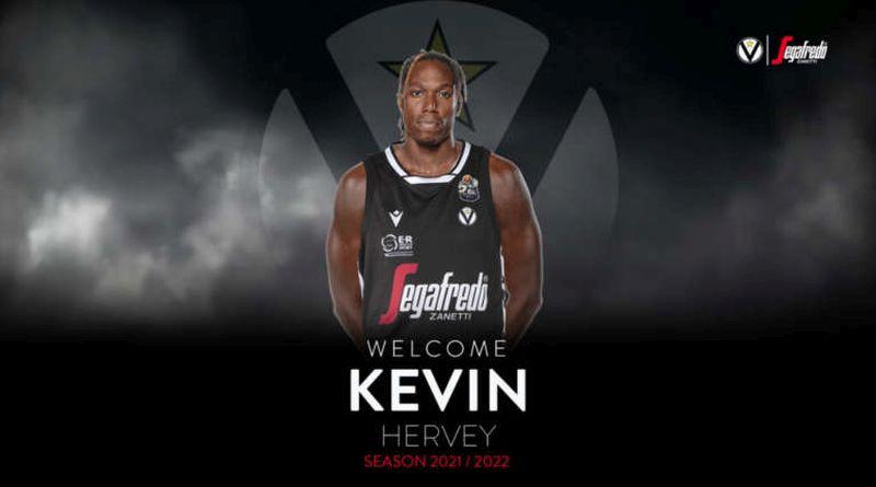 Kevin Hervey è della Virtus Bologna fino al 2023