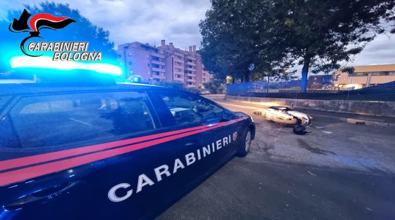 Folle inseguimento in Bolognina, arrestato un giovane motociclista senza patente