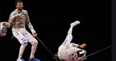 Olimpiadi di Tokyo, Argento per Luigi Samele della Virtus Scherma Bologna