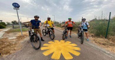 bologna Ciclovia del Sole, influencer e videomaker in bici per promuovere la nuova ciclabile