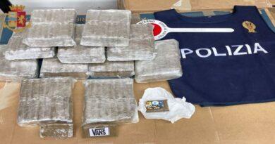 17 chili di hashish in auto usata come deposito, arrestato pusher 38enne bologna sala bolognese