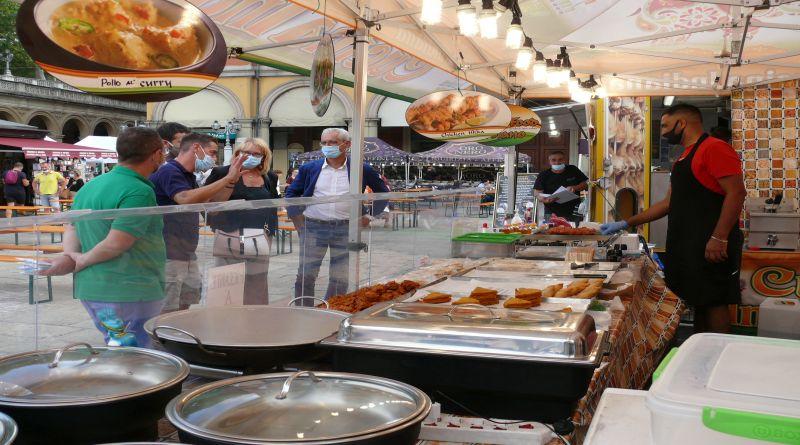 In piazza XX Settembre torna il Mercato Europeo, sapori da tutta Europa e non solo Bologna